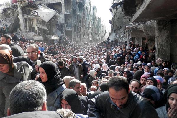palestiniens-Yarmouk